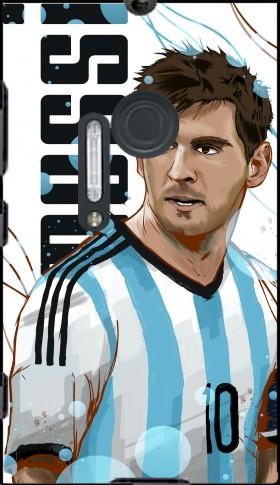 coque Football Legends: Lionel Messi - Argentina pour Nokia Lumia 1020