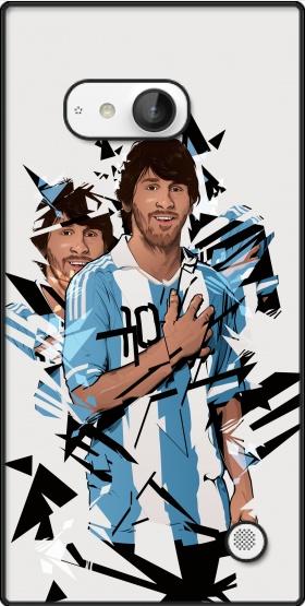 silicone Football Legends: Lionel Messi Argentina pour Nokia Lumia 730