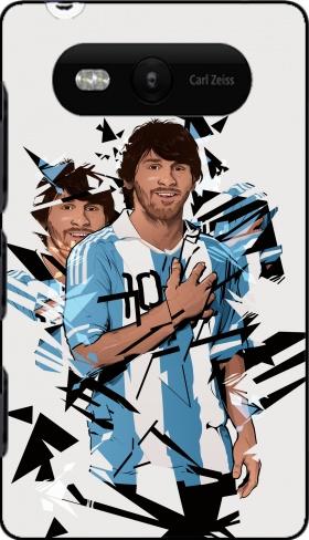 coque Football Legends: Lionel Messi Argentina pour Nokia Lumia 820