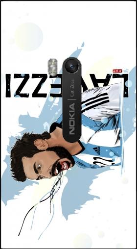 ... Football Stars: Ezequiel Lavezzi - Argentina pour Nokia Lumia 920