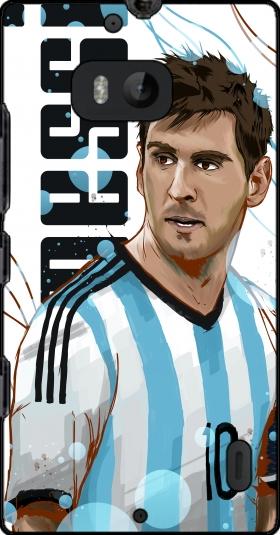 coque Football Legends: Lionel Messi - Argentina pour Nokia Lumia 930