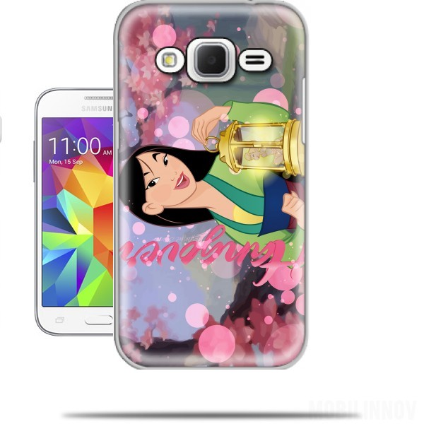 coque samsung galaxy core prime disney hangover mulan feat tinkerbell. Black Bedroom Furniture Sets. Home Design Ideas