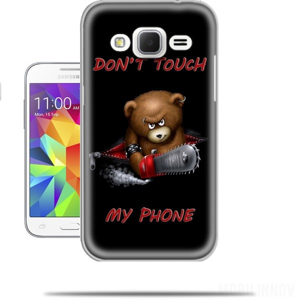coque samsung j3 don't touch my phone