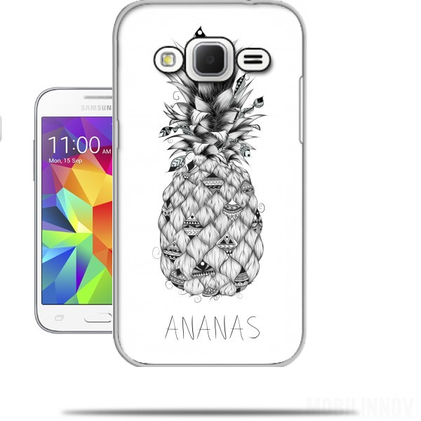 coque galaxy s6 ananas