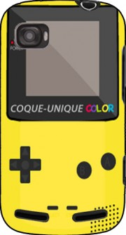 silicone Gameboy Color Jaune pour SFR STARADDICT II Plus