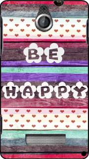 silicone Be Happy Hippie pour Sony Xperia E