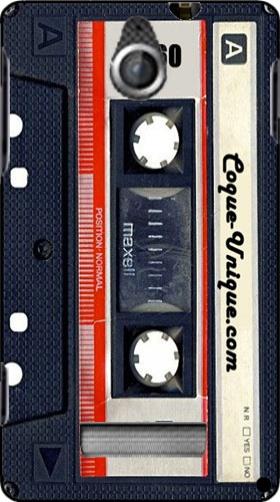 coque sony xperia e cassette audio k7 originale et pas cher. Black Bedroom Furniture Sets. Home Design Ideas