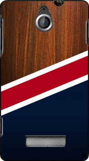 silicone Wooden New England pour Sony Xperia E