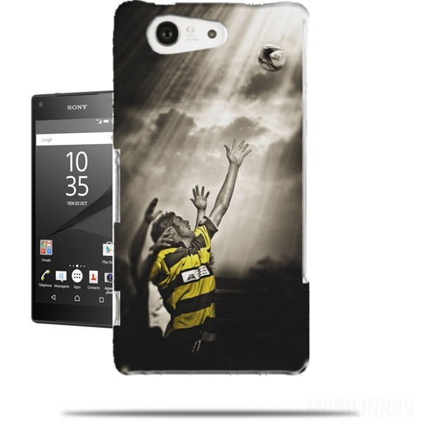 coque sony xperia z5 compact rugby challenge originale et pas cher. Black Bedroom Furniture Sets. Home Design Ideas