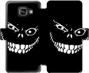 etui folio Samsung Galaxy A3 (2016) Crazy Monster Grin