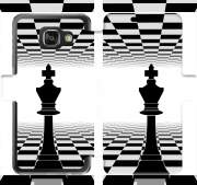 etui folio Samsung Galaxy A3 (2016) King Chess