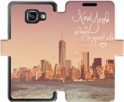 etui folio Samsung Galaxy A3 (2016) New York always...