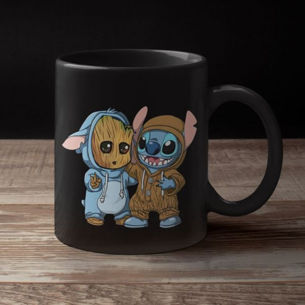 mug Groot x Stitch