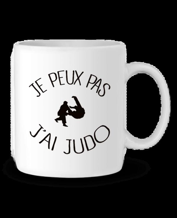 mug Je peux pas jai Judo ceinture