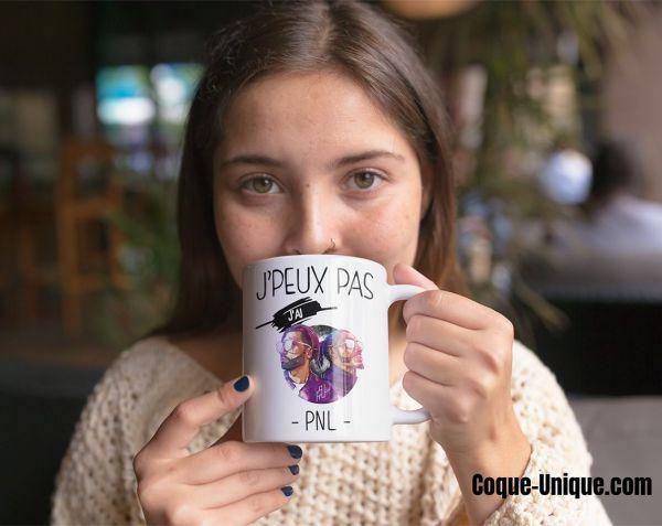 mug Je peux pas j'ai pnl