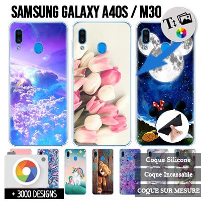 Silicone Samsung Galaxy A40s / Galaxy M30 personnalisée