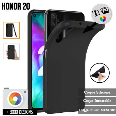 Silicone personnalisée Honor 20