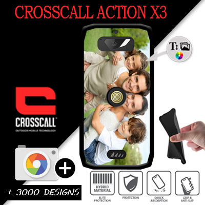 coque personnalisée Crosscall Action X3