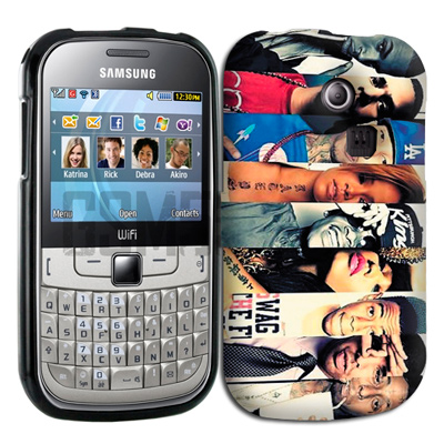 coque personnalisee Samsung Chat 335 S3350