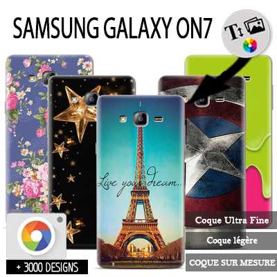 coque personnalisee Samsung Galaxy On7
