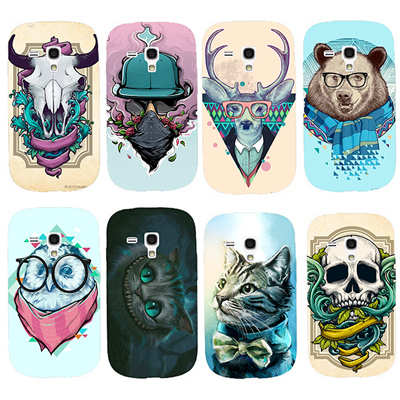 wholesale super specials famous brand Coque Samsung Galaxy S III mini personnalisée
