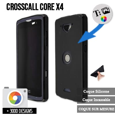 coque personnalisée Crosscall Core X4