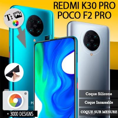 Silicone personnalisée Xiaomi Poco F2 Pro / Redmi K30 pro
