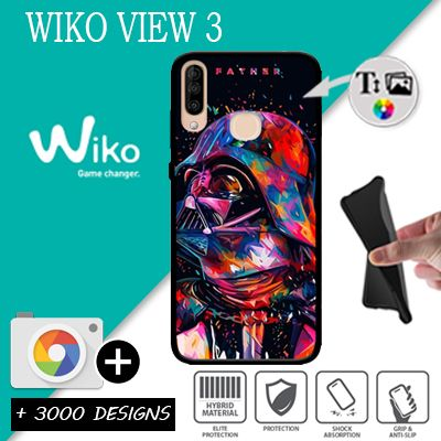 Silicone Wiko View 3 personnalisée
