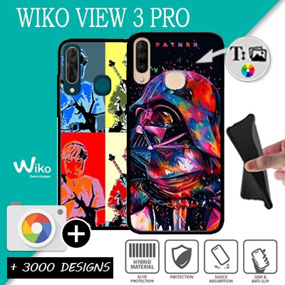 Silicone personnalisée Wiko View 3 Pro