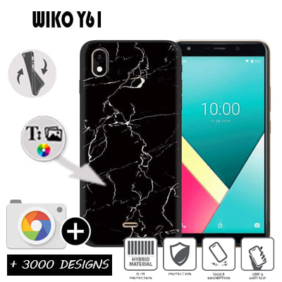 Silicone Wiko Y61 personnalisée