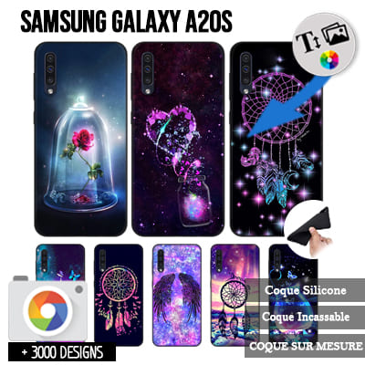 Silicone personnalisée Samsung Galaxy A20s