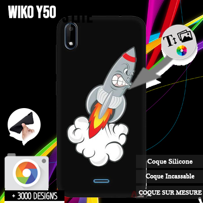 acheter silicone Wiko Y50
