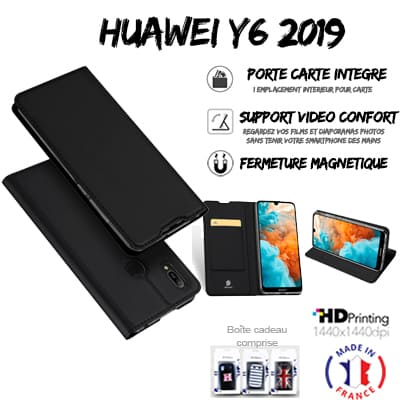 Housse portefeuille personnalisée Huawei Y6 2019 / Y6s