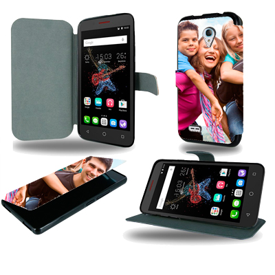 Housse portefeuille personnalisée Alcatel One touch Go Play