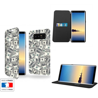 Housse portefeuille personnalisée Samsung Galaxy Note 8