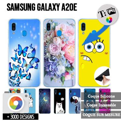 Silicone Samsung Galaxy A20E / A10E personnalisée