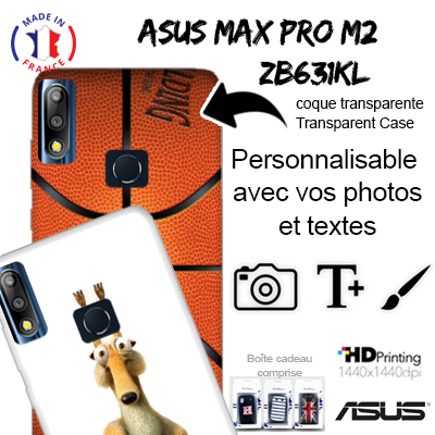 coque personnalisee Asus Zenfone Max Pro M2 ZB631KL