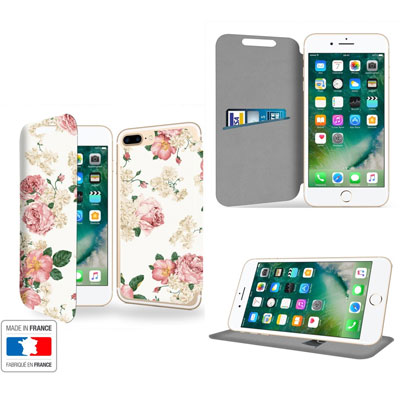 coque portefeuille iphone 8 plus