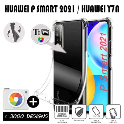Silicone personnalisée Huawei P Smart 2021 / Y7A
