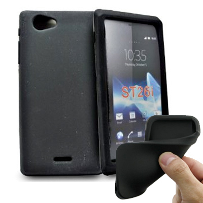 Silicone personnalisée Sony Xperia J