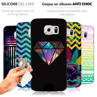 coque samsung galaxy s7 personnalis e avec vos photos. Black Bedroom Furniture Sets. Home Design Ideas