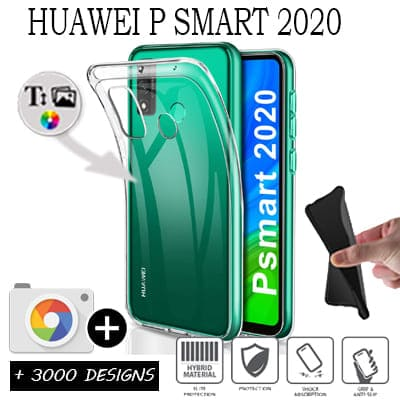 Silicone personnalisée Huawei PSMART 2020
