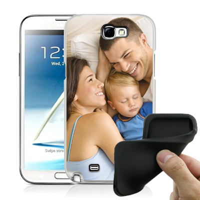 Silicone personnalisée Samsung Galaxy Note 2