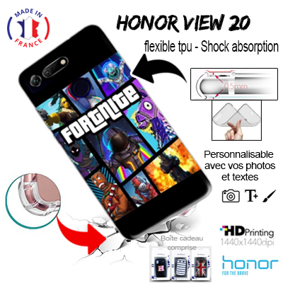 acheter silicone Honor View 20