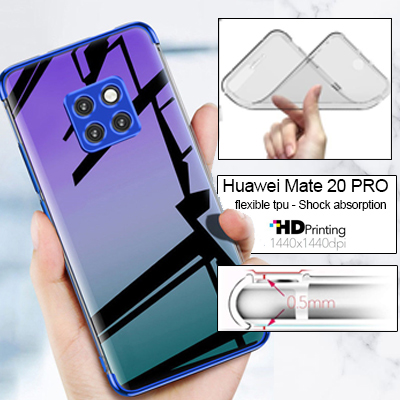 Silicone personnalisée Huawei Mate 20 Pro