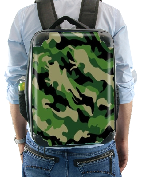 sac à dos Camouflage Militaire Vert