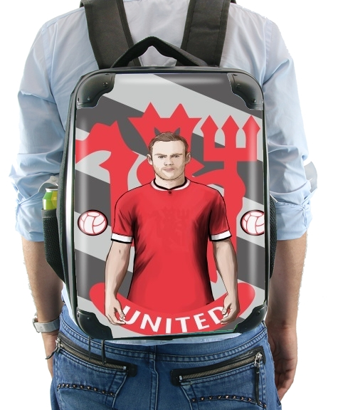 sac à dos Football Stars: Red Devil Rooney ManU