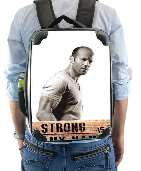 sac à dos Jason statham Strong is my name