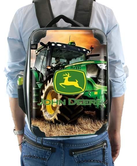 grossiste 8b9e4 6d119 Sac à dos John Deer Tracteur vert