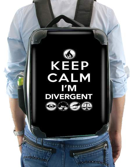 sac à dos Keep Calm Divergent Faction